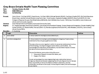 GB OHT Planning Committee - Minutes -October 20, 2020 - Approved_Page_1
