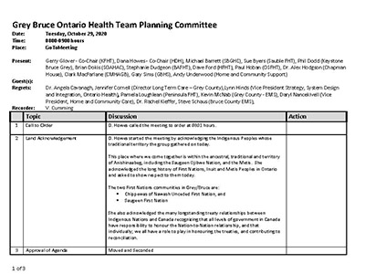 GB OHT Planning Committee - Minutes -October 29, 2020 - Approved_Page_1