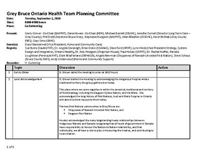 GB OHT Planning Committee - Minutes - March 10, 2020 - Approved_Page_1
