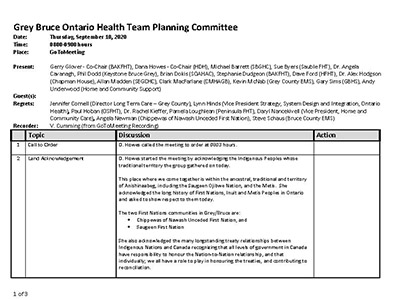 GB OHT Planning Committee - Minutes -September 10, 2020 - Approved_Page_1