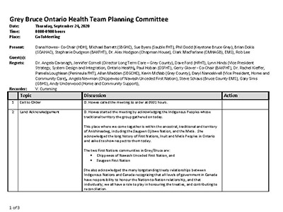 GB OHT Planning Committee - Minutes -September 24, 2020 - Approved_Page_1